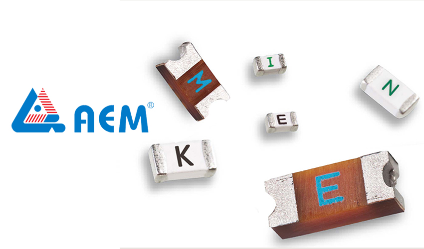 AEM Components Offers Innovative SMD Fuses Designed for Automotive Applications