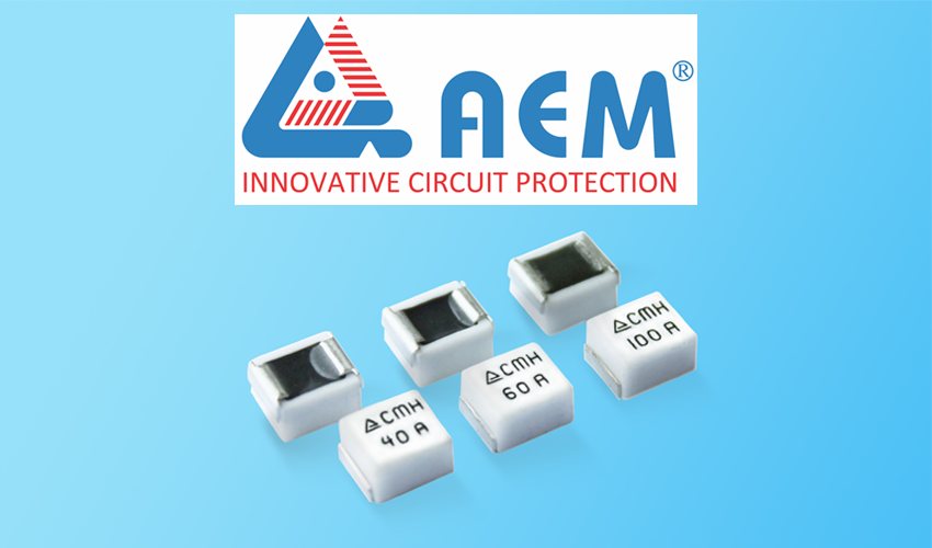 AEM Components Features Innovative High Current Surface Mount Fuse Series