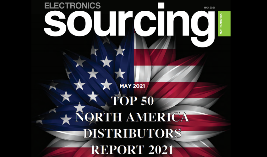 Area51 Electronics Ranked #27 in Electronics Sourcing Top 50 North America Authorized Distributors 2021 Report