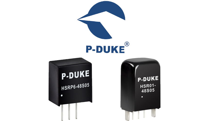P-DUKE Features HSRP6 and HSR01 Non-Isolated DC/DC Converters