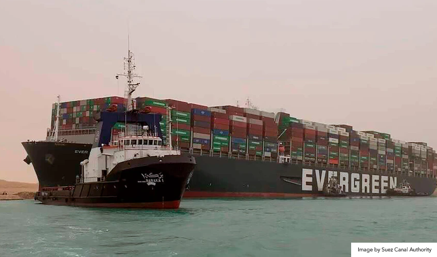 Suez Canal Blockage and Chip Shortages: Another Dent to the Supply Industry?