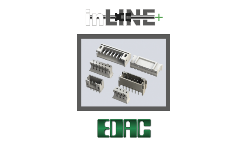 EDAC Launches New 140 Series Inline Plug & Socket Connectors